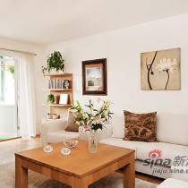 75平米清新宜人公寓 简约大方北欧风