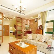 15万清新乡村风单层四房两厅复式家