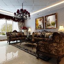 香格里拉-现代-三居室