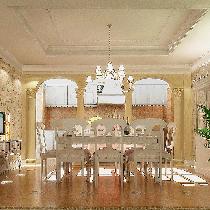 【实景装修案例】400平别墅精致精致与精致的完美演绎-英式乡村