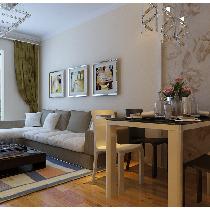 西安居泰隆(东方米兰)两室装修案例