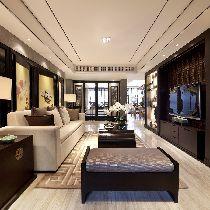 63万打造220平万科高尔夫品味设计绝味家居装修