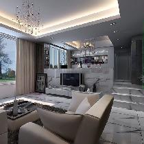 《阳光空间》——现代风格别墅样板房设计
