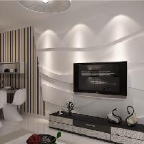 4W3简装80平居室 花少钱装新房就这么简单