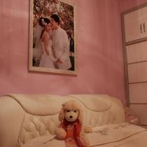 晒一下我们的婚纱照了。
