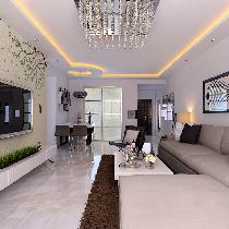中海城塞尚-现代风格-二居室