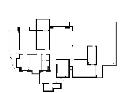 西关逢源花园-原始平面图