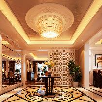 演绎经典法式浪漫73万豪华装修320平米别墅优雅格调家居风格