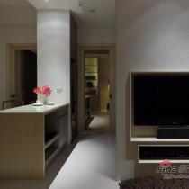 60平两居室小客厅美家 现代机能时尚家