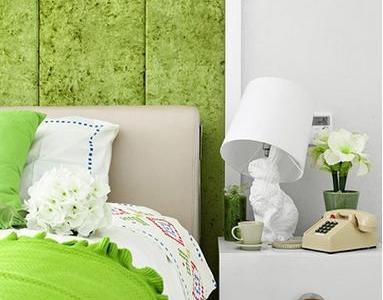 绿色家居给了眼前一亮的感觉 超级舒服。