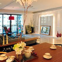 上海实创装饰-松江区110平大两居现代新古典爱家