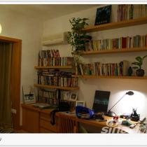书房的全景