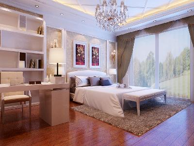 主卧精心设计的主卧设计理念:在卧室这个空间里,在充分考虑到业主的生活习惯和使用要求后,设计出整套装修方案,再搭配上精心考虑后挑选的软装饰家私及饰品摆件,营造出最适合本案业主所要求的家的感觉。