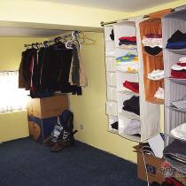 其实这件房蛮大的,用作更衣室有些浪费