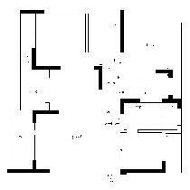 顺园小区-一层原始平面图
