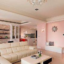 【上海实创装饰】124平秋月枫舍美式风情家居设计