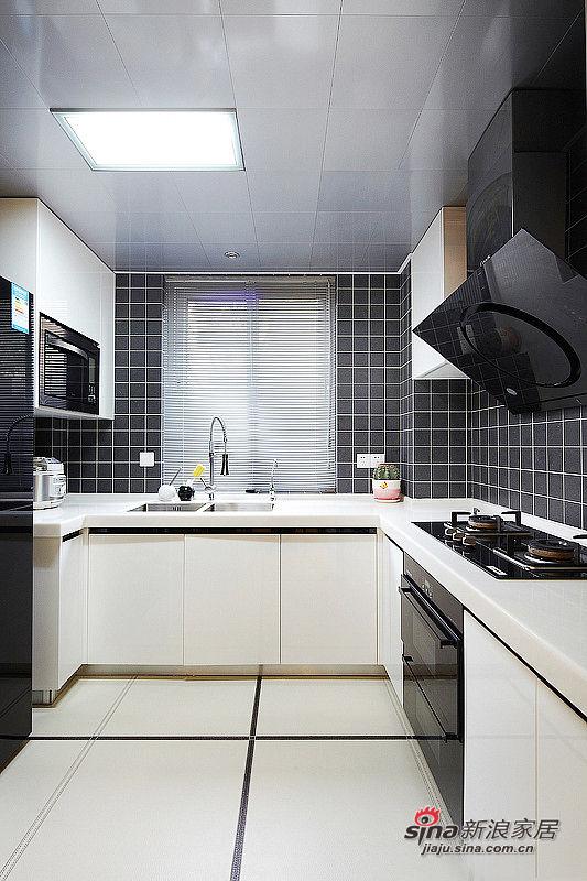 105平简约混搭3居的动人故事——厨房