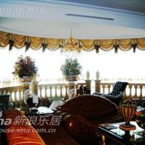 客厅的窗帘是我最喜欢的,摩力克的布艺设计真专业
