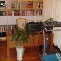 书房兼健身房,可以边听歌边跑步
