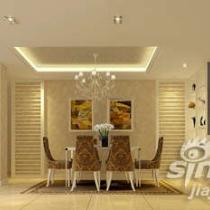 《简欧风尚》----东莞理想0769别墅样板房设计
