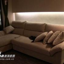 客厅很简单,沙发,茶几,厅柜...............