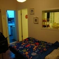 小客厅,这是沙发床,平时都是折起来的,当沙发坐
