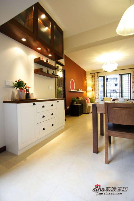餐厅+客厅的设计