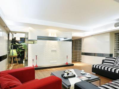 闺蜜家的客厅设计