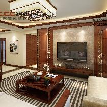 兴庆府大院190平-中式风格-15.5万