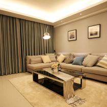 98平现代简约风格居 暖色调舒适空间