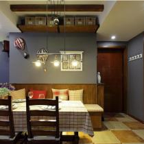 沈阳96平三居室现代简约风格装修设计