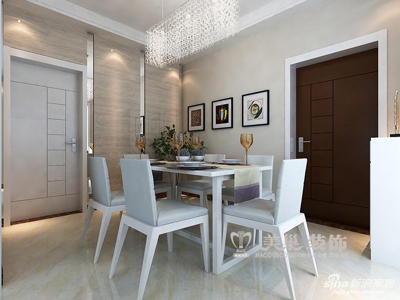 建海绿荫半岛三室两厅装修效果图-现代雅致充溢样板间——玄关门厅