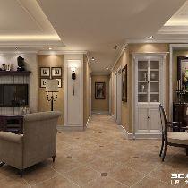 普陀秋月枫舍三居室古典与现代的完美结合