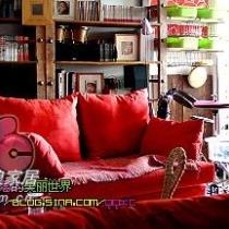"""这就是我的""""红色彼岸""""工作室,我喜欢红色,她是我永恒的灵感~~~~"""