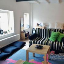 30平公寓改造变时尚LOFT 素面旧房换新颜