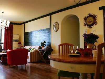 餐厅 客厅的空间