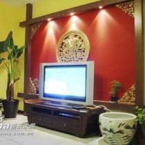 八十平婚房 浪漫的中式风格家