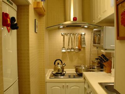 现在去我们的厨房看看吧,厨房全景