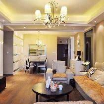 十一婚房做准备113平简约时尚二居室装修