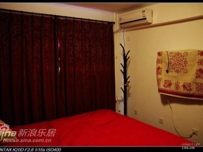 卧室红透了,嘿嘿