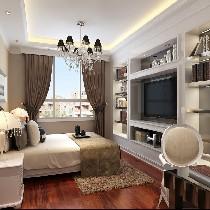 卧室方面业主要求居室的床都要东西摆放,无论屋里的结构,这个也是业主的一个特殊要求,问其原因也不太说的上来,就是想这样放