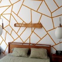 墙壁随心绘—只用简单线条就能营造时尚感~
