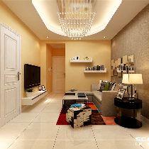 【上海实创装饰】川沙73平老房现代简约风格装修设计