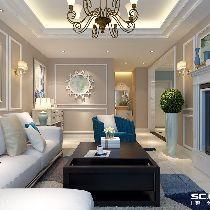 【上海实创装饰】美兰湖170平复式现代风格小资装修设计