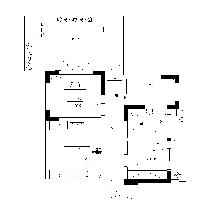 顺园小区-二层平面家具布置图