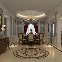 尚层装饰 丽樽 900平米 法式风格案例