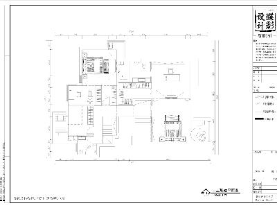 北欧简约大宅设计——北辰香麓户型图