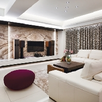 时尚新古典主义优雅公寓