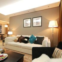 98平精致白领公寓 明亮悠闲的时尚美家
