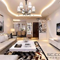 客厅装修效果图 客厅是主人品味的象征,体现了主人品格,地位,也是交友娱乐的场合